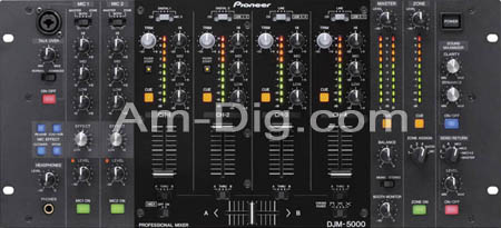 Pioneer DJM-5000: Professional Standard Mobile DJ from Am-Dig