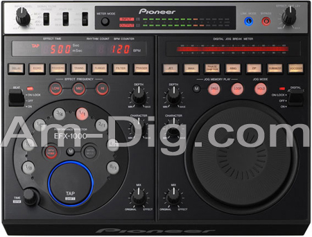 Pioneer EFX-1000: Performance Effector from Am-Dig