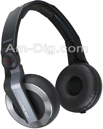 Pioneer HDJ-500K: DJ Headphones - Black from Am-Dig