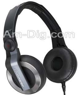Pioneer HDJ-500T-K: Entry Level DJ Headphones from Am-Dig