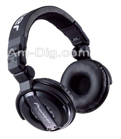 Pioneer HDJ-1000K : Professional DJ Headphones from Am-Dig