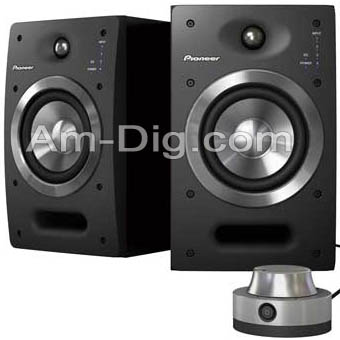 Pioneer S-DJ05: 5inch Active Reference Speakers from Am-Dig