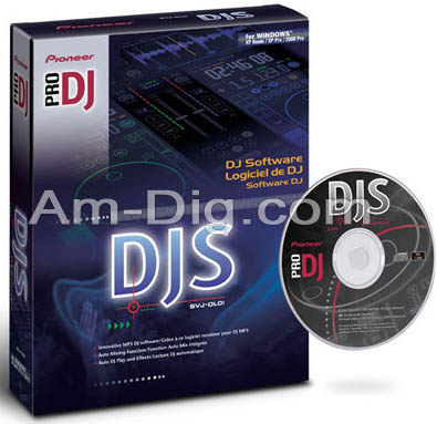 Pioneer SVJ-DL01: Professional DJ Software from Am-Dig