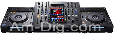 Pioneer SVM-1000: Professional Audio/Video Mixer from Am-Dig