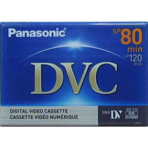 Panasonic Mini DV 80 (120min LP Mode) from Am-Dig