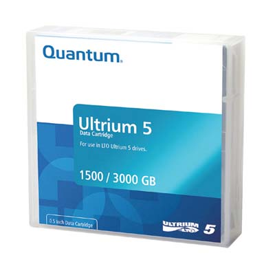 Quantum RL5MQN20 Ultrium LTO-5 Cartrdge 1.5/3.0TB  from Am-Dig