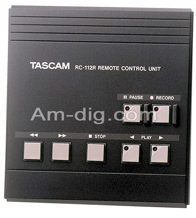 Tascam RC-112R: Wireless Remote from Am-Dig
