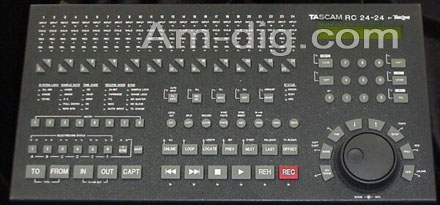 Tascam RC-2424: Remote Control for MX-2424  from Am-Dig