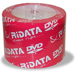 Ridata/Ritek G05 Silver Matte 16x DVD+R Spindle from Am-Dig
