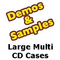 Large (Fat) Multi CD Jewel Case Samples from Am-Dig