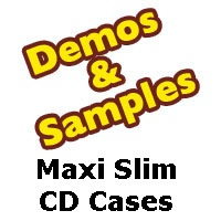 CD Jewel Case - Maxi Slim Size - Samples from Am-Dig