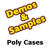 CD Jewel Case - Poly Material - Samples from Am-Dig