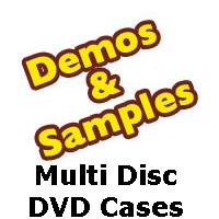 DVD Cases: 14mm Multi Disc Samples from Am-Dig