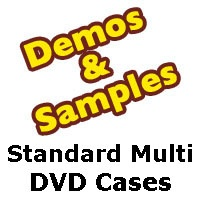 DVD Case: Standard Multi Disc Samples from Am-Dig