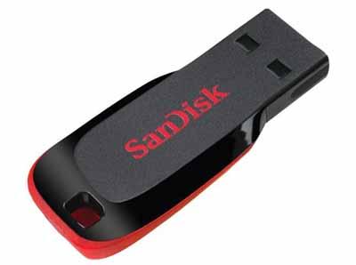 SanDisk SDCZ50016GA46: Cruzer USB Flash Drive 16GB from Am-Dig