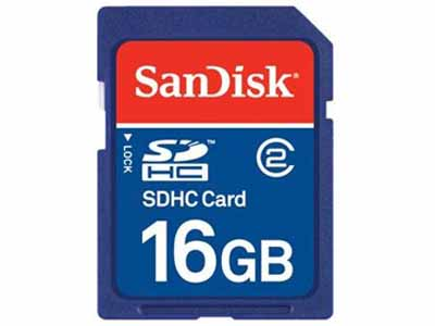 SanDisk SDSDB-016G-A46: SDHC Memory Card, 16GB from Am-Dig