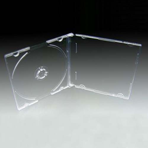 Linberg CD/DVD Empty Clear Slim Case from Am-Dig
