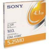 Sony EDM4100B: 5.25inch RW Optical 4.1GB 512B/S from Am-Dig