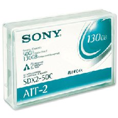 Sony SDX250C: 50GB 230M AIT-2 8mm Cartridge from Am-Dig