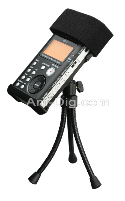 Tascam AK-DR1 Accessory Kit For The DR-1 from Am-Dig