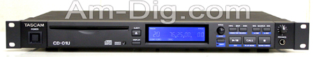 Tascam CD-01U Professional CD Player from Am-Dig