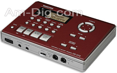 Tascam CD-GT2 Portable CD Guitar Trainer from Am-Dig
