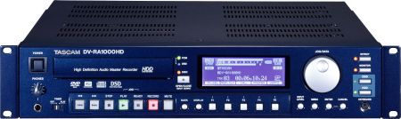 Tascam DV-RA1000HD High Resolution Recorder from Am-Dig