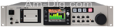 Tascam HS-8 High Resolution Recorder from Am-Dig