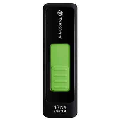 Transcend Black JetFlash 760, 16GB, USB 3.0