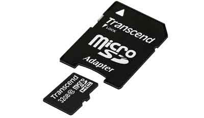 Transcend MicroSD, 16GB, Class 10 from Am-Dig