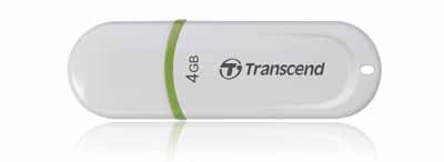 Transcend TS8GJF30 JetFlash White 300 4GB USB 2.0 from Am-Dig