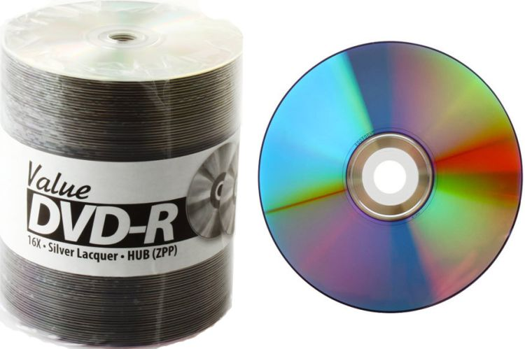 Taiyo Yuden Value DVD-R 16x InkJet Hub Printable from Am-Dig