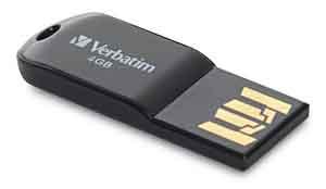 Verbatim 44048: Store n Go Micro Black USB from Am-Dig
