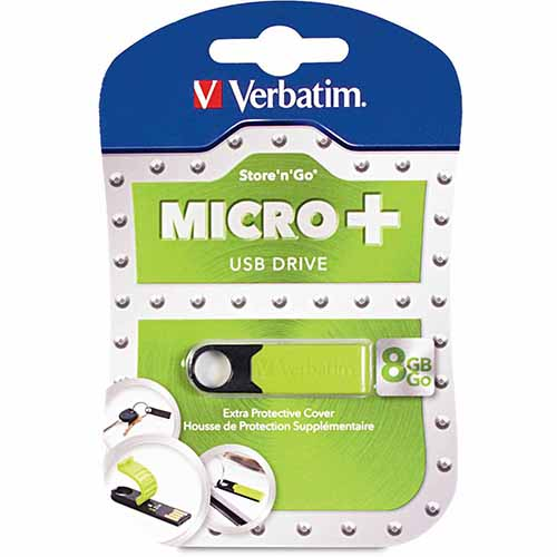 Verbatim 47423: Store n Go Green Micro USB from Am-Dig