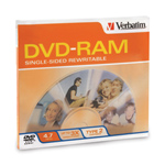 Verbatim 95002: 4.7GB 3x Type II Cartridge DVD-RAM from Am-Dig