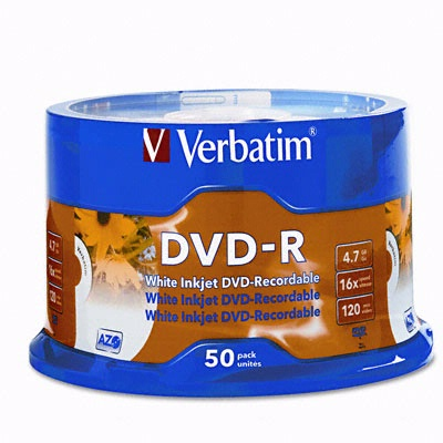 Verbatim 95097: AZO DVD+R 4.7GB 16x-10pk Slim Case from Am-Dig