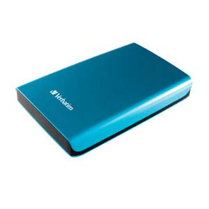 Verbatim 97656: StoreNGo Hard Drive 500GB - Blue from Am-Dig
