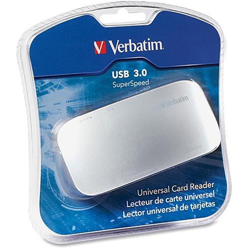 Verbatim 97706: Universal Card Reader, USB 3.0 from Am-Dig