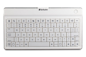 Verbatim 97754: Bluetooth UltraSlim Keyboard White from Am-Dig