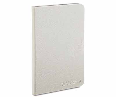 Verbatim 98076: White Kindle Fire HD 7 Folio Case from Am-Dig