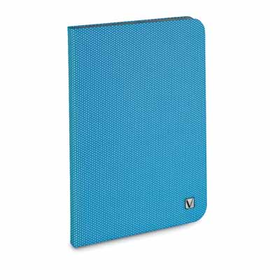 Verbatim 98100: Aqua Blue iPad Mini Folio Case from Am-Dig