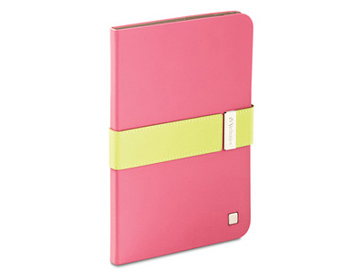 Verbatim 98418: Pink & Green Folio iPad Mini Case from Am-Dig