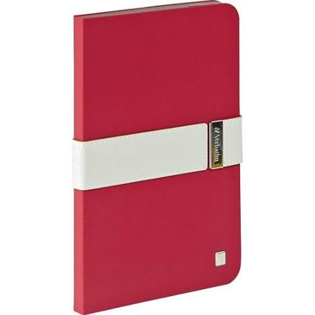 Verbatim 98419: Red/Grey Signature iPad Mini Case from Am-Dig