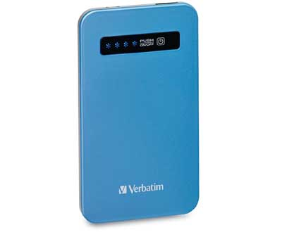 Verbatim 98451: AquaBlue UltraSlim Power Pack USB from Am-Dig