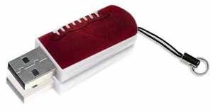 Verbatim 98506: USB Flash Drive, 8GB -Mini Footbal from Am-Dig