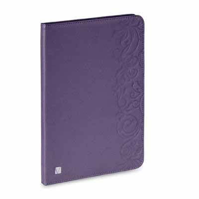 Verbatim 98533: Purple Floral Folio iPad Mini Case from Am-Dig