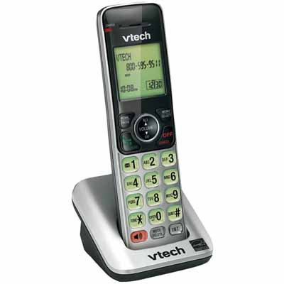VTech CS6609: Slver/Blck Handset Backlit Keypad from Am-Dig
