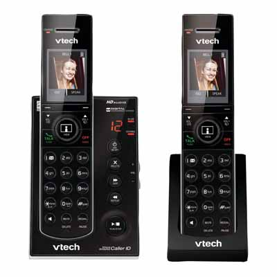 VTech IS712122 Black Video Doorbell Phone Handsets from Am-Dig