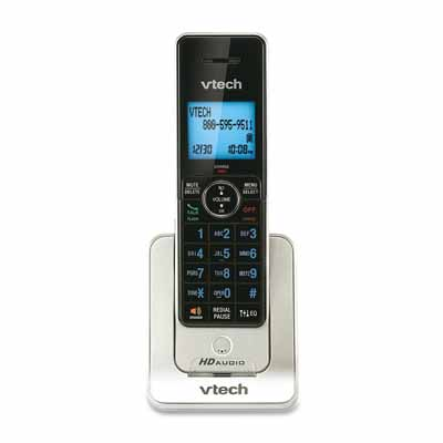 VTech LS6405: Black/Silver Cordless Handset Phone from Am-Dig