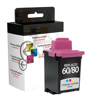 West Point 114761 Restored Lexmark #80 & #60 Color from Am-Dig